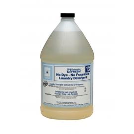 Spartan Clothesline Fresh® No Dye-No Fragrance Laundry Detergent 13, 1 Gallon Jug - 701304 - 4jg/cs