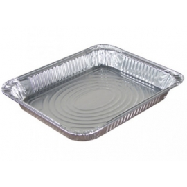 Pactiv Half Steam Shallow Pan Foil Containers - 70376 - 100/cs
