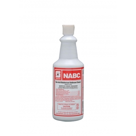Spartan NABC Non Acid Bathroom Cleaner 1 Quart Bottle - 711603 - 12bt/cs