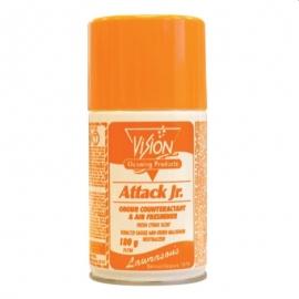 Vision Attack Jr- Metered Air Freshener 180gm Orange Citrus Fragrance - 71759