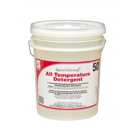 Spartan SparClean All Temperature Detergent 50, 5 Gallon Pale - 765005