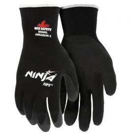 Ninja HPT Black Nylon Glove X-Large HPT Coated Palm and Fingertips - 8000MGN9699XL - 12dz/cs
