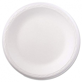 "Genpak Celebrity 9"" Dinner Foam Plates  - 80900 - 500/cs"