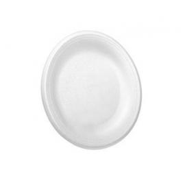 """CKF 9"""" Dynette Foam Plates - 88622 - 500/cs"""