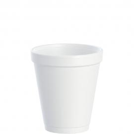 Dart J Cup 8 oz Foam Cups - 8J8 - 1000/cs