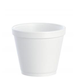 Dart 8 oz Foam Containers - 8SJ12 - 1000/cs