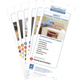Spartan Clean Check Training Cards Set - 927000