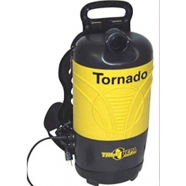 Tornado Pac-Vac Aircomfort Back Pack Vacuum 10 quart 4 Stage Filteration with Hepa, CRI Gold Level - 93014