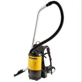 Tornado Battery PacVac6 Roam-Cordless Backpack Vacuum 6 quart Comes with Lithium Ion Battery & Charger - 93016