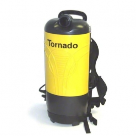 Tornado PV 6 Hepa Back Pack Vacuum 6qt Capacity 4 Stage Hepa, Complete with Tool Kit and Wands - 93028