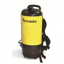 Tornado PV 10 Hepa Back Pack Vacuum 10 quart 4 Stage Filteration with Hepa, Complete with Tool Kit and Wands - 93034