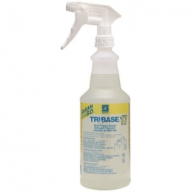 Spartan Clean on the Go Tribase MP Cleaner Bottle with Triggers - 933700 - 12/cs