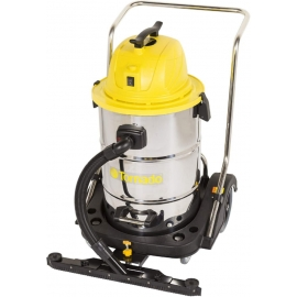 Tornado Taskforce Stainless Steel Wet-Dry Vaccum 20gal Come with Trot and Front Mount Squeegee - 94236
