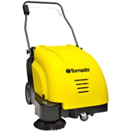 Tornado SWB 26/8 Walk Behind Battery Sweeper 9gal Self Propelled, Complete with AGM Batteries and On Board Charger - 96210