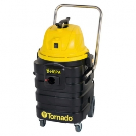 Tornado Taskforce CFV 17 Vacuum 17gal 4 Stage Critical Filtration with Certified HEPA Filter - 97089
