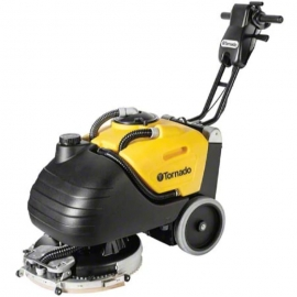 "Tornado BD17/6 Autoscrubber Complete 17"" With 28 AH AGM Batteries & Charger, Complete - 99617"