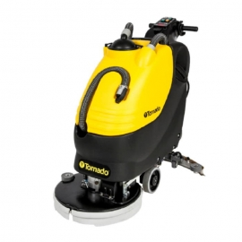 "Tornado BD20/11 Walk Behind Floor Autoscrubber 20"" Pad Driven, With On Board Charger and Wet Low Acid Batteries, Complete - 99680"