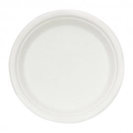 "RiteEarth 10"" Sugarcane Round Plate - BP100 - 500/cs"