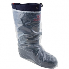 16in Clear Poly Bootcover with Elastic - BPD5-XL-5E - 50/bx, 10bx/cs
