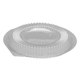 Genpak Clear Lid fits 12 oz, 16 oz Plastic Bowls - BW916 - 200/cs