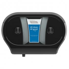 Cascades PRO Tandem Double JRT Paper Dispensers Black - C233