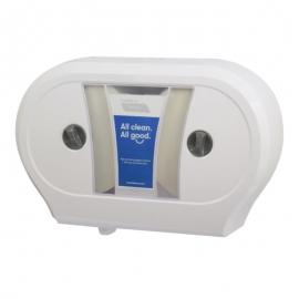 Cascades PRO Tandem Double JRT Paper Dispensers White - C244