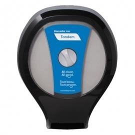 Cascades PRO Tandem JRT Paper Dispensers Black - C259