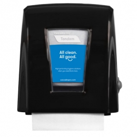 Cascades PRO Tandem Nano Autocut Paper Dispensers Black - C331
