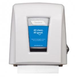 Cascades PRO Tandem Nano Autocut Paper Dispensers White - C339