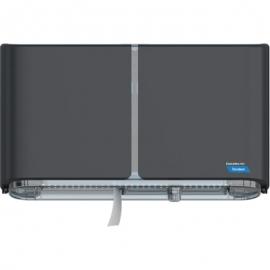 Cascades PRO Tandem Double JRT Paper Dispensers Grey - C380