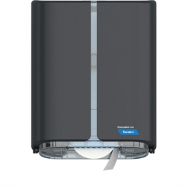 Cascades PRO Tandem Single JRT Paper Dispensers Grey - C382