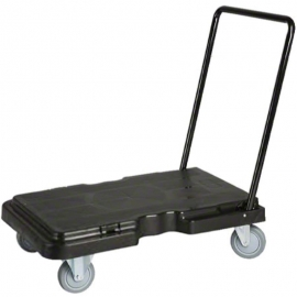 "Industrial Box Cart 30"" x 17.5"" Fold Down Handle - CA-I3100"