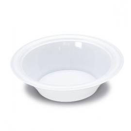 Darnel 12oz White Plastic Bowls - D591501HC1 - 1000/cs