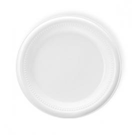 Darnel 9in White Plastic Plates - D592301C1 - 500/cs