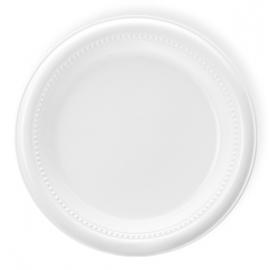 Darnel 10.5in White Plastic Plates - D592601C1 - 500/cs