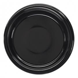 Darnel 10.5in Black Plastic Plates - D592699C1 - 500/cs