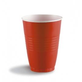 Darnel 16oz Red Plastic Cups - D611632CP1 - 240/cs