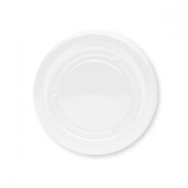 Darnel Clear Flat Lid fits 1.5oz, 2oz, 2.5oz Plastic Portion Cups - D631500TN - 25x100/cs