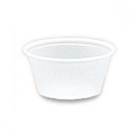 Darnel 2oz Translucent Plastic Portion Cups - D632002A - 25x100/cs
