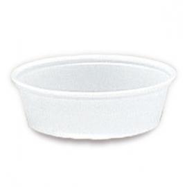 Darnel 3oz Translucent Plastic Portion Cups - D633002N - 25x100/cs