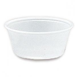 Darnel 4oz Translucent Plastic Portion Cups - D634002A - 25x100/cs
