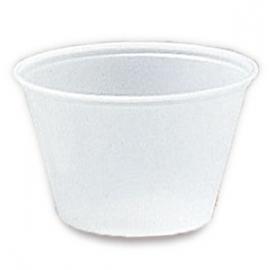Darnel 5.5oz Translucent Plastic Portion Cups - D635502A - 100/cs