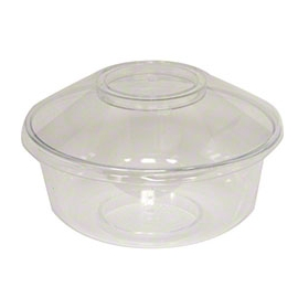 Darnel 5oz Venetian Clear Plastic Cups - D720500F - 600/cs