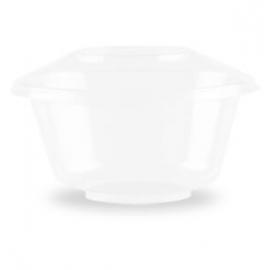 Darnel 8oz Venetian Clear Plastic Cups - D720800F - 600/cs