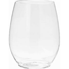 Fineline Settings Champion Printed Stemless Globet 12oz GlassCups - DP2712 - 64pcs/cs