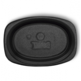 Darnel 7x9in Black Foam Platter - DU5209199 - 500/cs