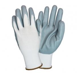 Nitrile Foam Coated Nylon Black Gloves Medium - G-NIDEX-MD-GF - 12 Pair