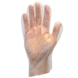 SafetyZone Poly Deli Gloves Medium - GDPEMD5 - 500/bx, 20bx/cs