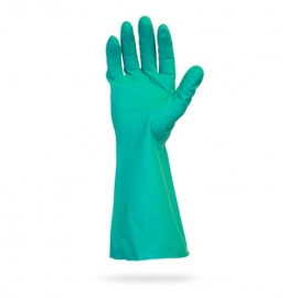 SafetyZone Nitrile Gloves, 13in Green Non-Lined 2X-Large - GNGU-2X-11 - 1pr/bg, 144pr/cs