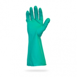 SafetyZone Nitrile Gloves, 13in Green Non-Lined Large - GNGU-LG-11 - 1pr/bg, 144pr/cs